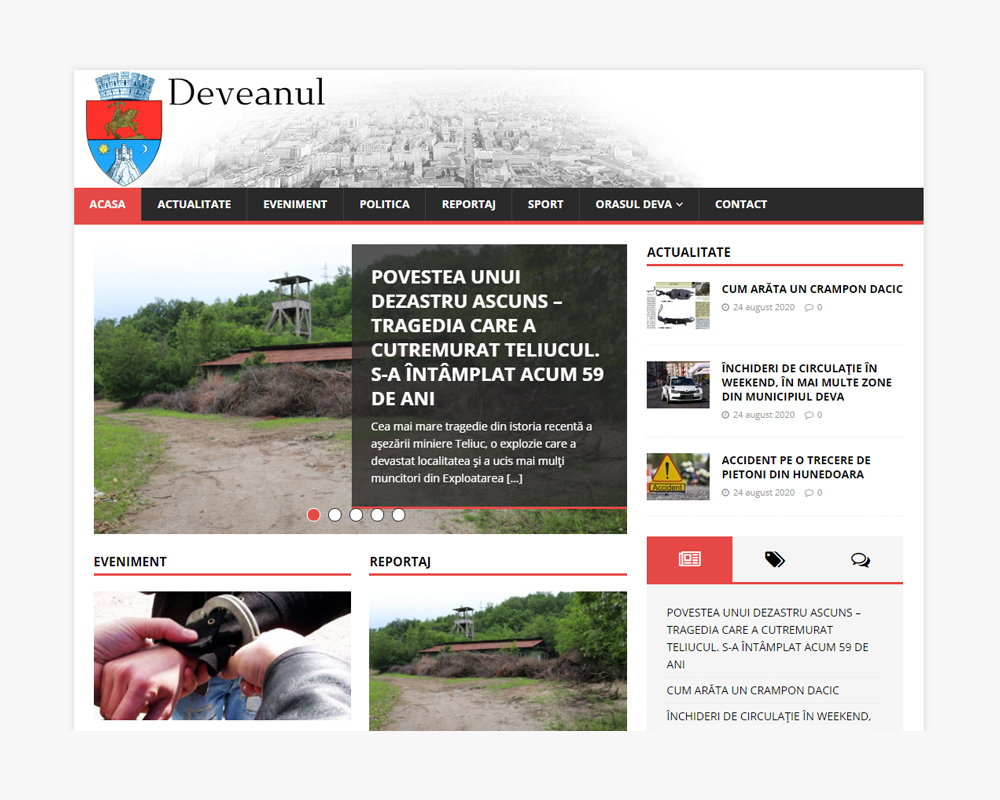 deveanul stiri deva readme-txt news development